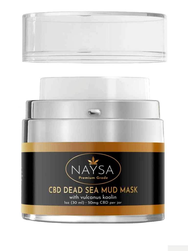 CBD Dead Sea Mud Mask 50mg